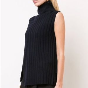 Vince Knitted Turtleneck Vest
